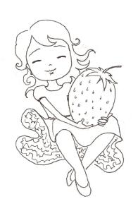 strawberry ink